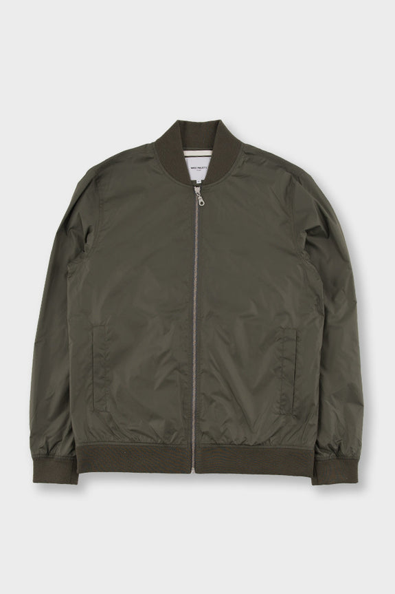 Ryan Light Ripstop Jacket Dried Olive -  - 1