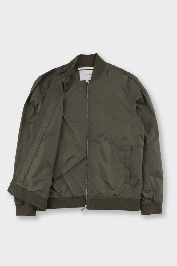 Ryan Light Ripstop Jacket Dried Olive -  - 2