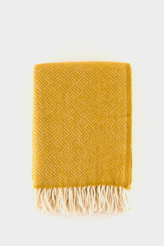 Klippan Samba Throw Yellow