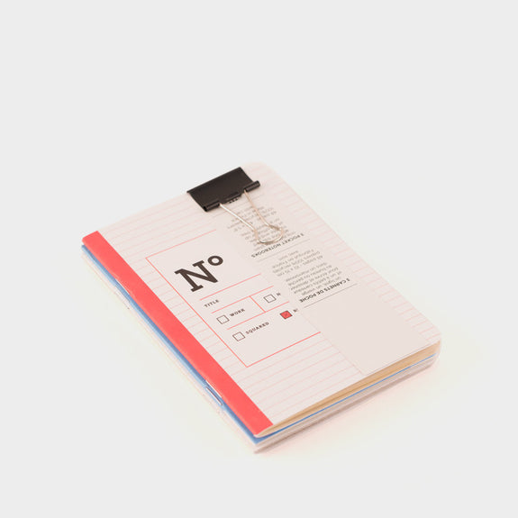 Papier Tigre 3 A6 Notebooks: The 3 Bureaucrats -