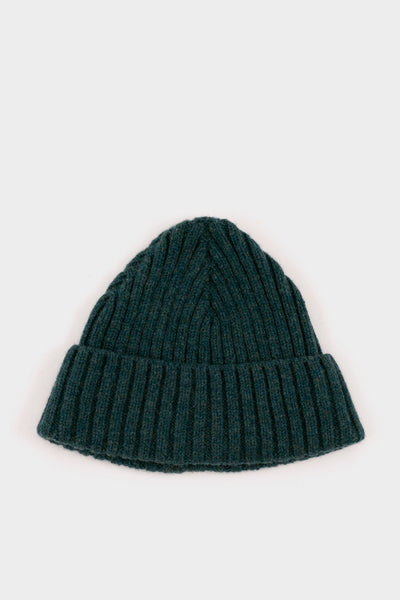Seven.Stones Fold Up Beanie Lambswool Forrest