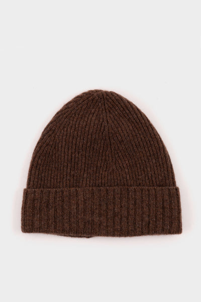 Seven.Stones Fold Up Beanie Hat Earth