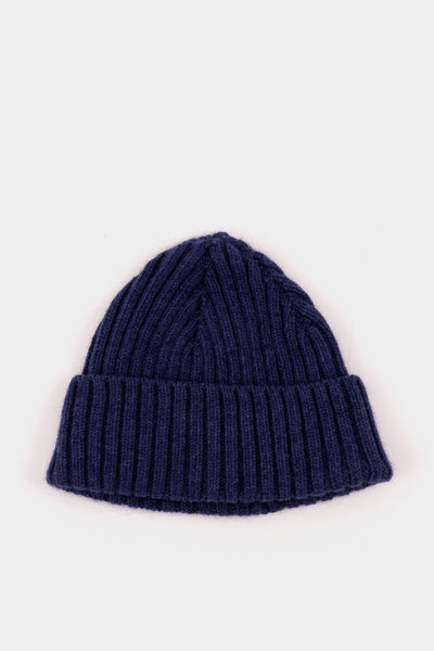 Seven.Stones Geelongorra Fold Up Beanie Lake Blue