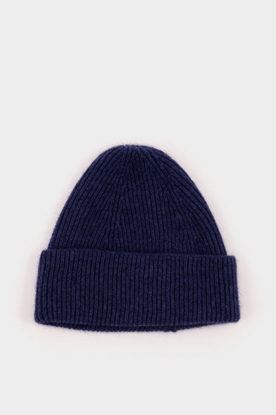 Seven.Stones Geelongorra Stitch Beanie Lake Blue