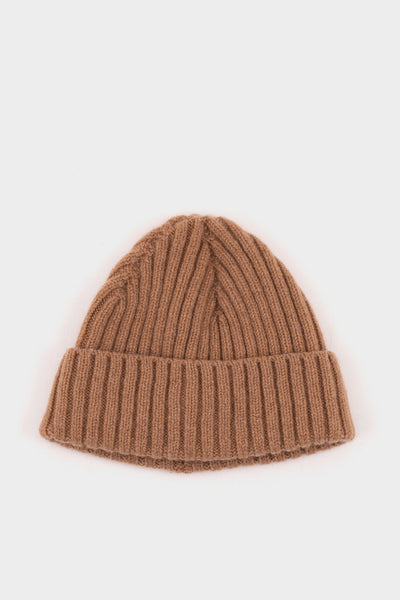 Seven.Stones Fold Up Beanie Lambswool Wood