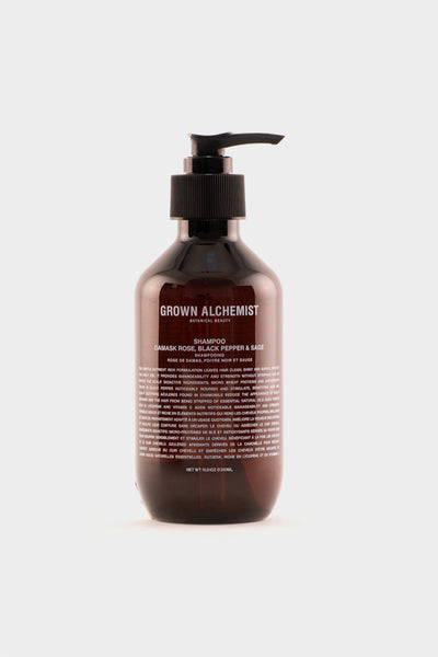 Grown Alchemist Shampoo Damask Rose, Black Pepper & Sage -