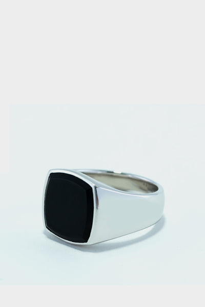 Tom Wood Cushion Ring Black Onyx