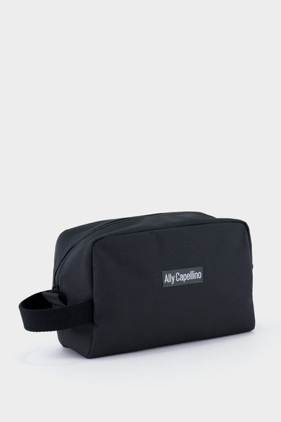 Ally Capellino Mini Simon Ripstop Washbag - Charcoal