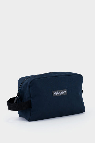 Ally Capellino Mini Simon Ripstop Washbag - Navy