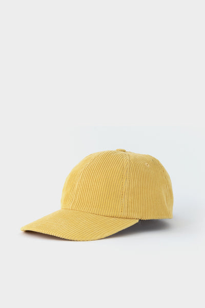 Folk Six Panel Corduroy Cap- Marigold