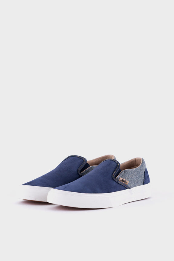 ca972d37d8 Vans Slip On Utilitrn Suede and Denim – academyclothes