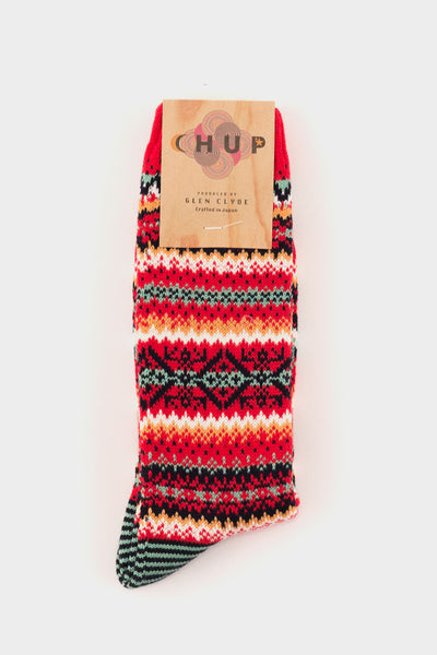 Snjor Socks Red -