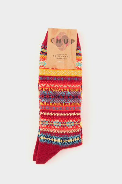 Solas Socks Red -