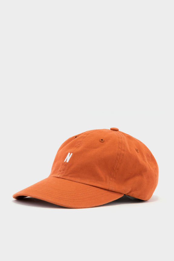 Norse Projects Sports Cap Burned Red