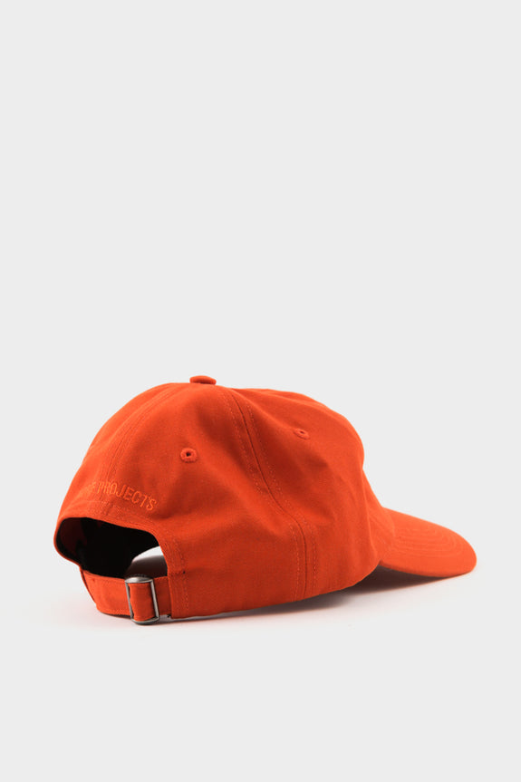 Norse Projects Sports Cap Oxide Orange