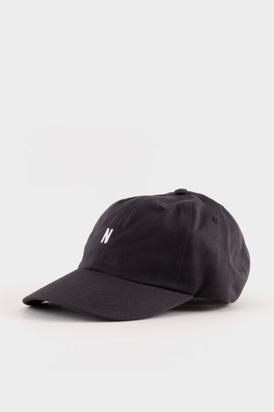 Norse Projects Twill Sports Cap Magnet Grey