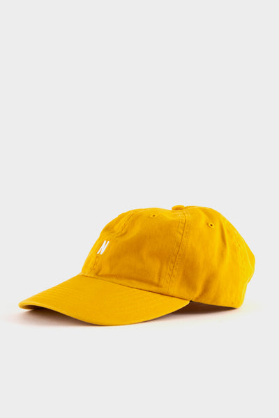 Norse Projects Twill Sports Cap Montpellier Yellow