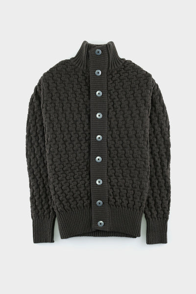 S.N.S Herning Stark Cardigan Army Green