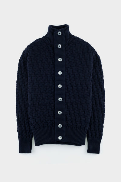 S.N.S Herning Stark Cardigan Original Blue