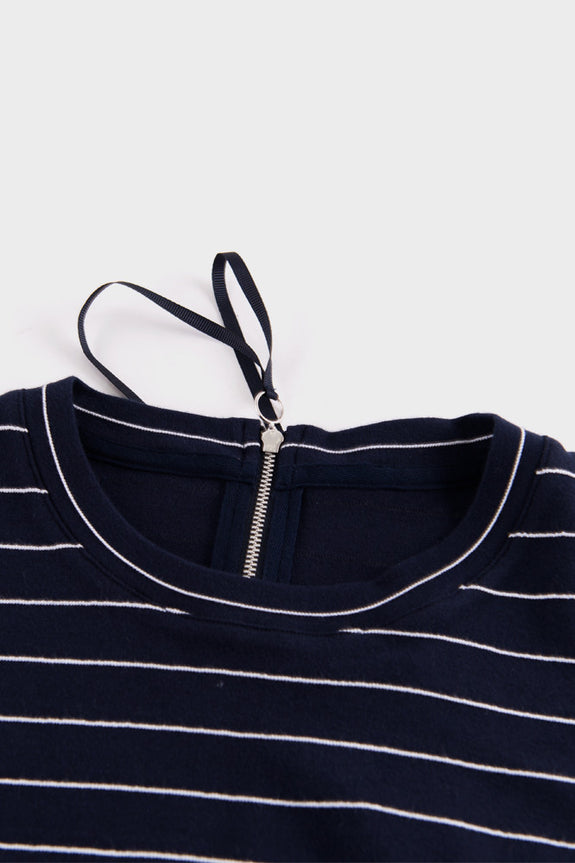 Statue Top Navy and White Stripe -  - 4