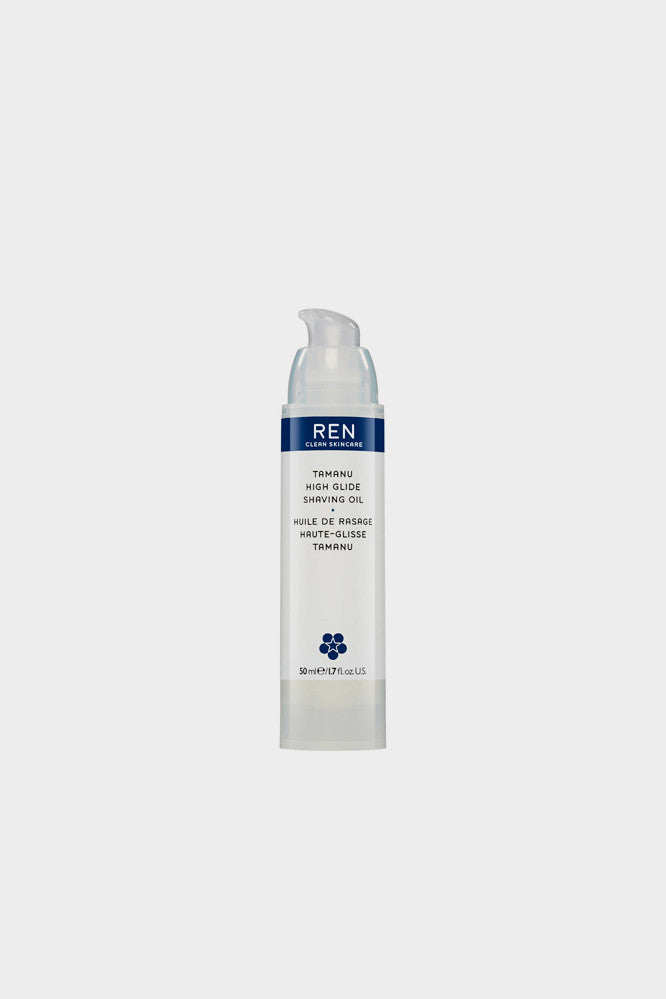 REN Shave Tamanu High Glide Shaving Oil 50ml -