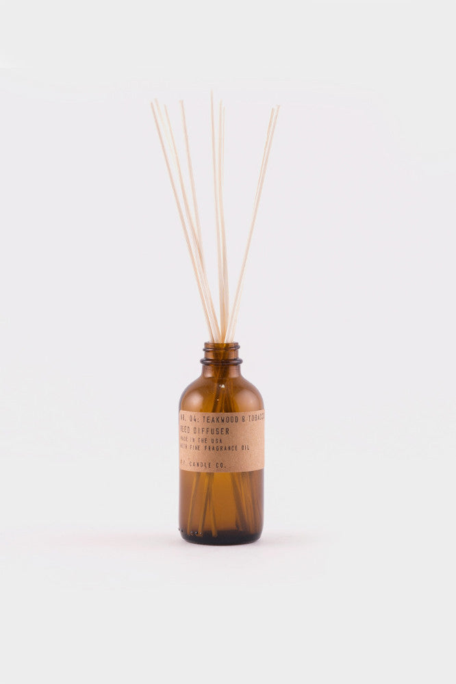 P.F. Candle Company Teakwood and Tabacco Diffuser -