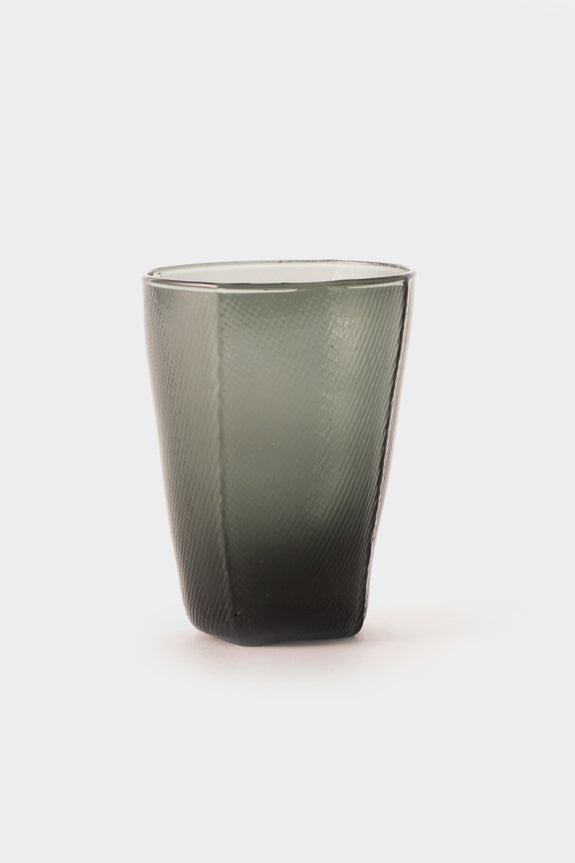 HAY Tumbler Tall Grey Glass -