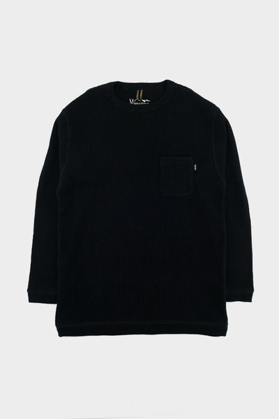 Manastash Snug Thermal T-Shirt Black