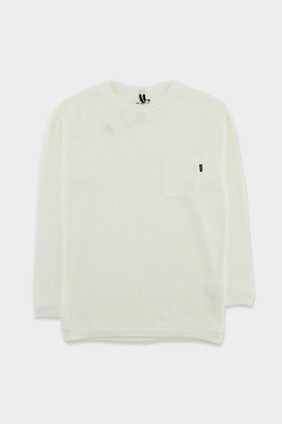 Manastash Snug Thermal T-Shirt White