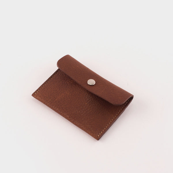 Ally Capellino Tom Card Holder: Tan/Grey -  - 1