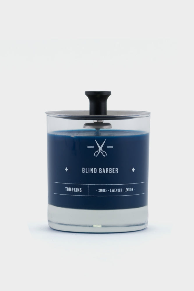 Blind Barber Scented Candle Lavender