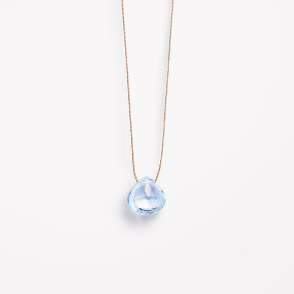 "Wanderlust Life 18"" Necklace Blue Topaz"