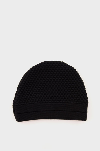 Torso Knitted Hat Black -
