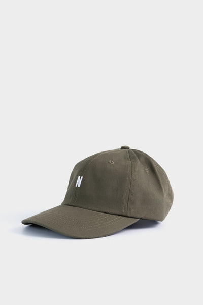 Norse Projects Twill Sports Cap Ivy Green