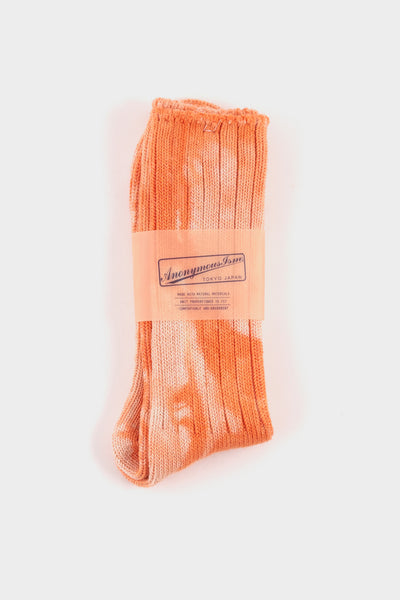 Anonymous Ism Tie Dye Socks Orange
