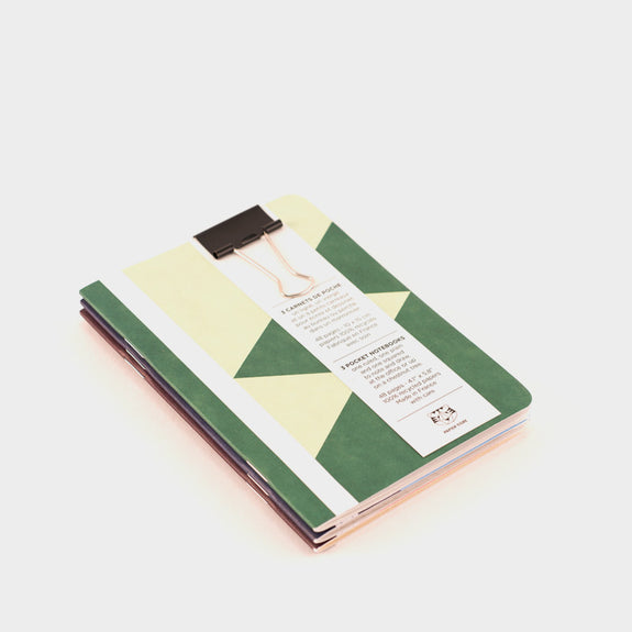 Papier Tigre 3 A6 Notebooks: The United 3 -