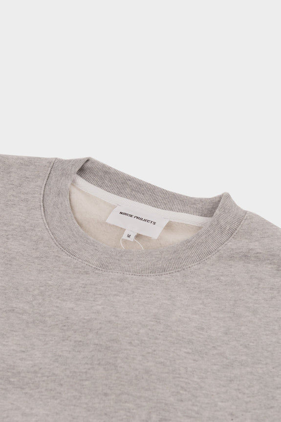 Norse Projects Vagn Classic Crew Grey Melange