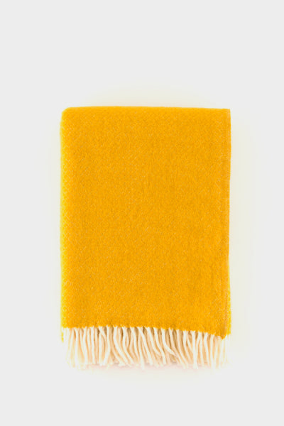 Klippan Vega Wool Throw Saffron