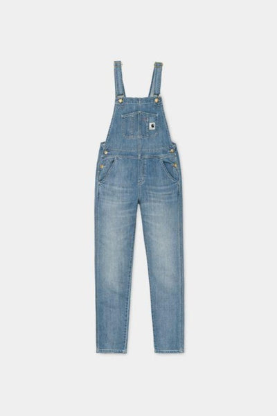 Carhartt Womens Bib Overall Blue Light Stone