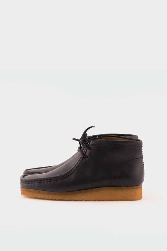 Wallabee Boot Horween Leather Petrol Blue -  - 1