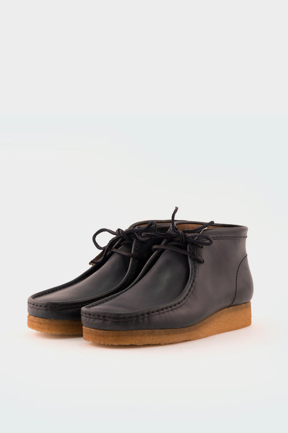 Wallabee Boot Horween Leather Petrol Blue -  - 2