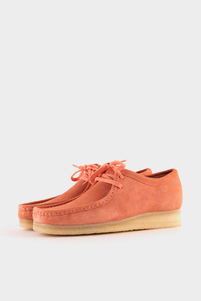 Clarks Originals Wallabee Coral Suede
