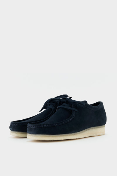 Clarks Originals Wallabee Indigo Suede