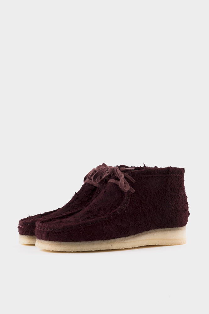 Clarks Originals Wallabee Boot - Burgundy