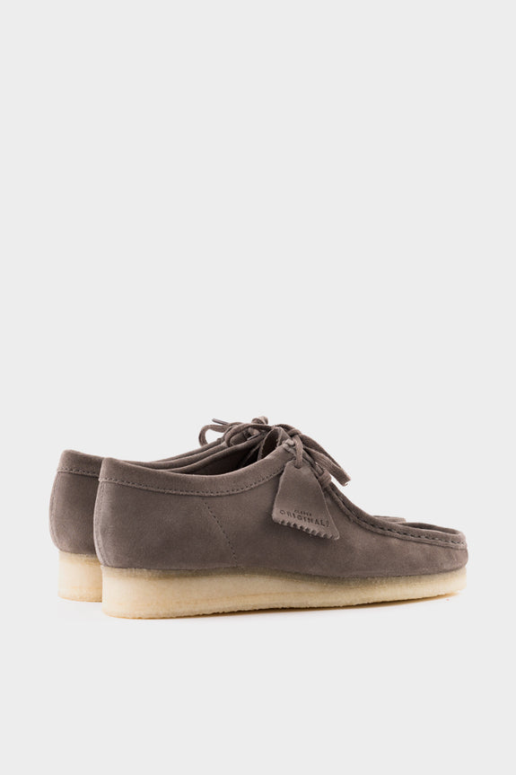 Clarks Originals Wallabee Grey Suede