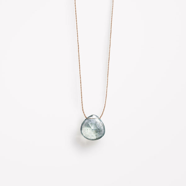 "Wanderlust Life 18"" Necklace Aquamarine"