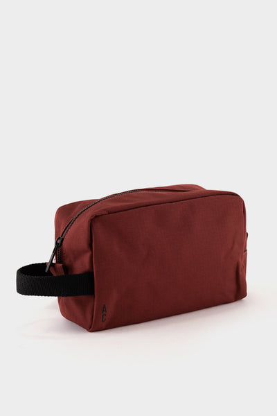 Ally Capellino Simon Ripstop Wash Bag - Burgundy