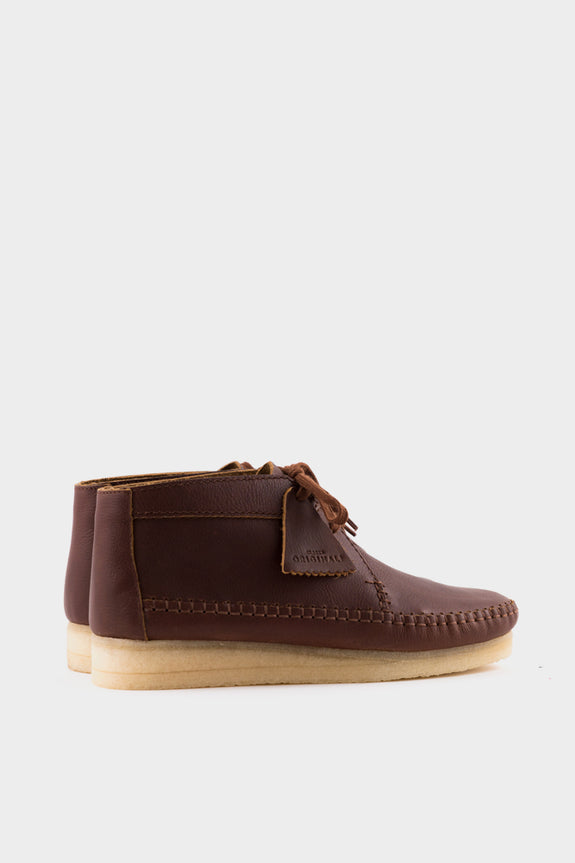 Clarks Originals Weaver Boot - Tan Leather