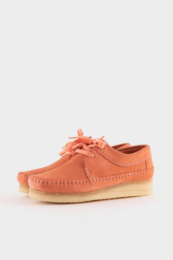 Clarks Originals Womens Weaver Coral Suede