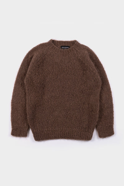 Seven.Stones Womens Mohair Knit Taupe